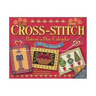 Easy Cross Stitch Pattern a Day: 2008 Day to Day Calendar: Tamara Schmidt: 9781579393243: Books