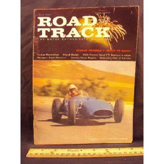 1960 60 July ROAD and TRACK Magazine, Volume 11 Number # 11 (Features: Road Test On Facel Vega GT Coupe, Austin A 99, & Renault Caravelle): Road and Track: Books