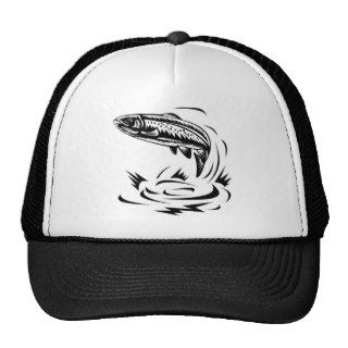 spotted speckled trout fish hat