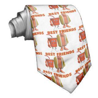 Best Friends Hot Dog & Soda Neckwear