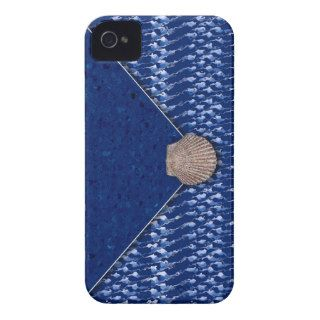 Sea Shell Clutch Bag iPhone 4 Cases