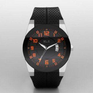 Jake Black Rubber Strap Analog Watch Watches