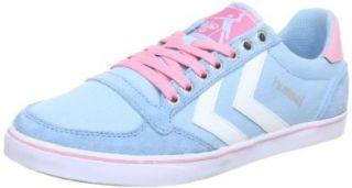 hummel HUMMEL SLIMMER STADIL LOW 63 112 8506, Unisex Erwachsene Sneaker, Blau (SKY BLUE/PEONY 8506), EU 37: Schuhe & Handtaschen