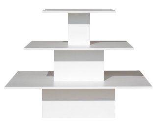Ladeneinrichtung Regal Pyramide (125 x 125 x 96 cm): Bürobedarf & Schreibwaren