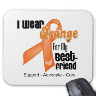 I Wear an Orange Ribbon For My Best Friend Mousepad