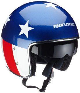 Marushin 861250006200 C 139 Standard Rider, Gr. XL, blau rot weiß Motorrad