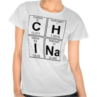 C H I Na (china)   Full T Shirts