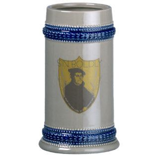 Sin Boldly   Martin Luther Beer Stein Mugs