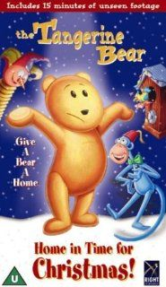 The Tangerine Bear [VHS]: Tom Bosley, Jenna Elfman, Howie Mandel, David Hyde Pierce, Jonathan Taylor Thomas, Marlon Wayans, David L. Lander, Clea Montville, Jon Polito, Orlando Brown, Jeannie Elias, Martin Grey, Bert Ring, Betty Paraskevas, Kathy Hornbuckl