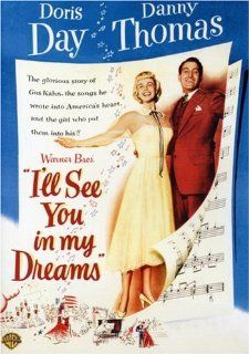 I'll See You in My Dreams Doris Day, Danny Thomas, Frank Lovejoy, Patrice Wymore, James Gleason, Mary Wickes, Julie Oshins, Jim Backus, Minna Gombell, Harry Antrim, William Forrest, Bunny Lewbel, Ted D. McCord, Michael Curtiz, Owen Marks, Louis F. Ede