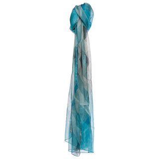 Burberry Women's Half Mega Check Silk Scarf Burberry Designer Scarves & Wraps
