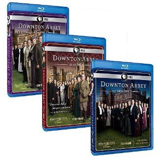 Downton Abbey: The Complete Seasons 1, 2 & 3 [Blu ray]: Hugh Bonneville, Dame Maggie Smith, Elizabeth McGovern, Shirley MacLaine: Movies & TV