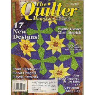 The Quilter Magazine, September 2003 (Issue Number 92) Laurette Koserowski Books