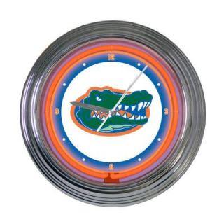 99ff16bc5081 The Memory Company 15 in. NCAA License Florida Gators Neon Wall ...