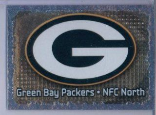 2012 Panini NFL Football Sticker #313 Green Bay Packers Logo FOIL: Sports Collectibles