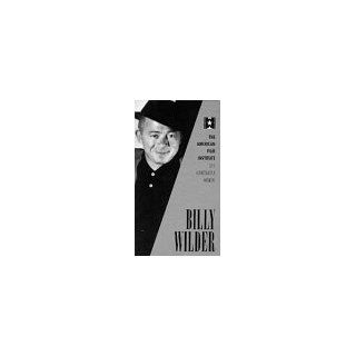 American Film Institute Billy Wilder (Lifetime Achievement Award Documentary) [VHS] Billy Wilder, AFI (American Film Institute), Audrey Hepburn, Fred MacMurray Movies & TV