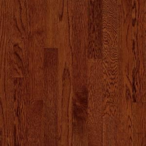 Bruce Natural Reflections Oak Cherry 5/16 in. Thick x 2 1/4 in. Wide x Random Length Solid Hardwood Flooring 40 sq. ft./case C5028