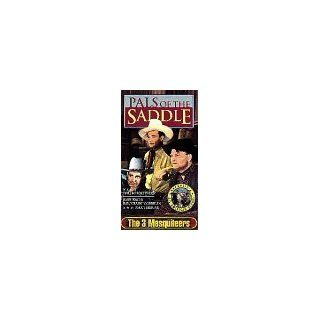 Pals of the Saddle: The 3 Mesquiteers [VHS]: John Wayne, Ray Corrigan, Max Terhune, Doreen McKay, Joseph Forte, George Douglas, Frank Milan, Ted Adams, Harry Depp, Dave Weber, Don Orlando, Charles Knight, Reggie Lanning, George Sherman, Tony Martinelli, Wi