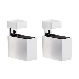 Dolle Cuadro 3/16 in.   3/4 in. Adjustable Shelf Support in Chrome 16733