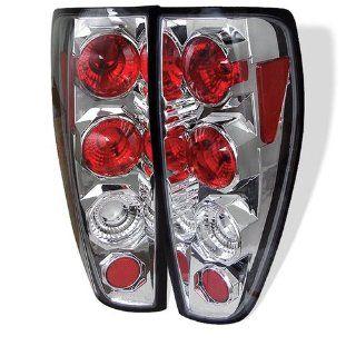Chevy Colorado 04 05 06 07 08 09 10 Altezza Tail Lights + Hi Power White LED Backup Lights   Chrome (Pair) Automotive