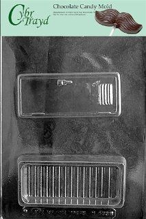 Cybrtrayd M183 Locker Pour Box Miscellaneous Chocolate Candy Mold Candy Making Molds Kitchen & Dining