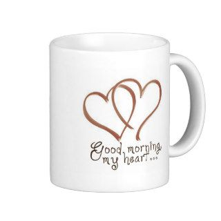 Castle   Good Morning, My Heart [with quote] Coffee Mug