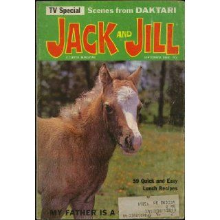 Jack and Jill Magazine September 1966 (Daktari TV Special) (Volume 28, No. 11) Fort McHenry Books