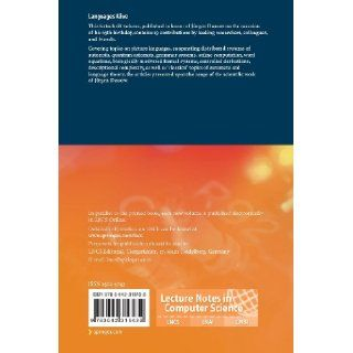 Languages Alive: Essays dedicated to J�rgen Dassow on the Occasion of His 65th Birthday (Lecture Notes in Computer Science / Theoretical Computer Science and General Issues): Henning Bordihn, Martin Kutrib, Bianca Truthe: 9783642316432: Books