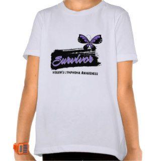 Tattoo Butterfly Hodgkins Disease Survivor Shirt