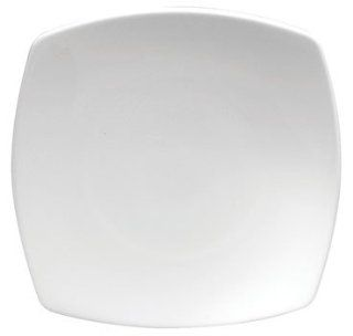 "Oneida Sant' Andrea Fusion Arq Undecorated 10 1/2"" Square Coupe Plate, 1 DZ: Kitchen & Dining"