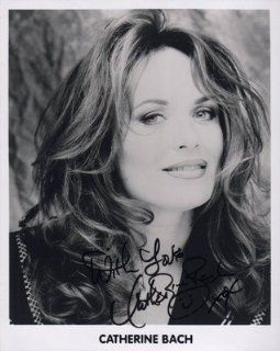 Catherine Bach Signed Daisy Duke Sexy Close Up Dukes Of HazzaRD UACC RD 244 Iada Entertainment Collectibles
