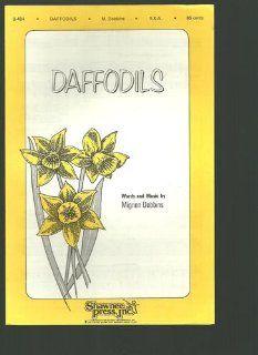 Daffodils, sheet music (B 484) Mignon Dobbins, Hawley Ades Books