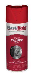 PlastiKote CP 251 Bright Red Brake Caliper Paint   12 Oz.: Automotive