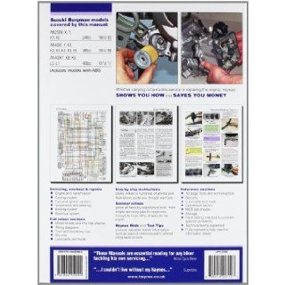 Haynes Suzuki Burgman 250 & 400, '98 To'11 (Haynes Service & Repair Manuals): Phil Mather: 9781844259090: Books