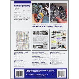 Haynes Suzuki Burgman 250 & 400, '98 To'11 (Haynes Service & Repair Manuals) Phil Mather 9781844259090 Books