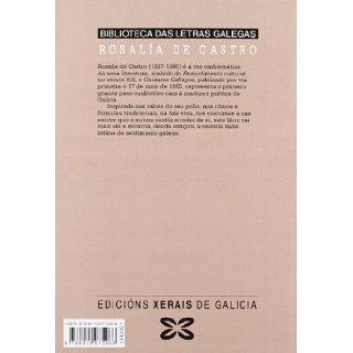 Cantares gallegos (Edicion Literaria) (Galician Edition): Rosalia De Castro: 9788475075068: Books