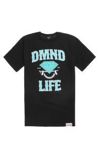 Mens Diamond Supply Co T Shirts   Diamond Supply Co Scroll Life T Shirt