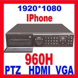 Professional 16 Channel H.264 HDMI Network Standalone DVR for Security Surveillance Video CCTV System   High Record Resolution, 16 Audio Channels, iPhone, Andriod Viewing. Preview, Record, Playback, Backup, Network Surveillance, USB 2.0 Backup, PTZ Control