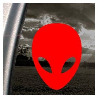 Alien Red Decal Car Truck Bumper Window Vinyl Red Sticker   Themed Classroom Displays And Decoration