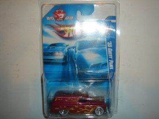 2009 Hot Wheels Collector Edition Mail In '55 Chevy Panel Dark Red: Toys & Games