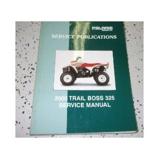 2000 Polaris TRAIL BOSS 325 Shop Repair Service Manual FACTORY OEM BOOK 00 polaris Books