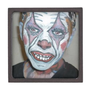 Sad Clowns Scary Clown Face Painting Premium Jewelry Boxes