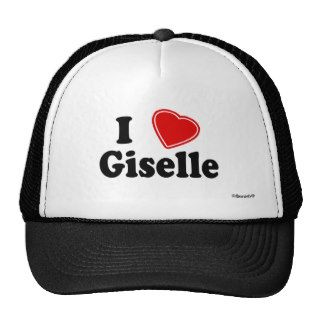 I Love Giselle Hats