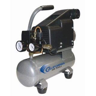 California Air Tools 1.6 Gallon 1.0 HP Steel Tank Oil Lubricated Air Compressor Tools