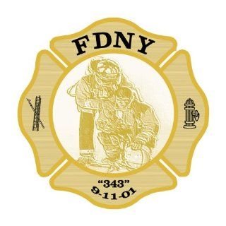 "FDNY ""343"" 9 11 01 Label EMSE 11011 Hard Hat / Helmet Labels  Message Boards"
