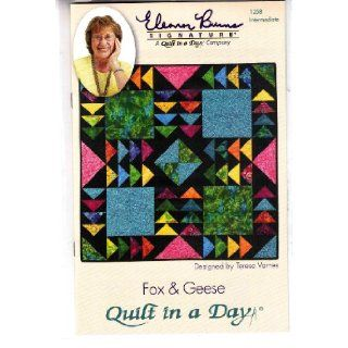 Fox & Geese Quilt Pattern Quilt in a Day 9781891776342 Books