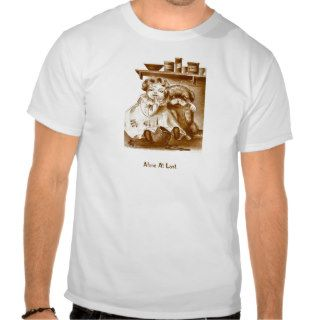 Naughty Girl and Dog Get Into Jam T Shirt