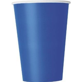 10 Count Paper Cup, 12 Ounce, Royal Blue Kitchen & Dining
