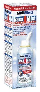 NasaMist Isotonic Saline Spray USA   for Allergy and Sinus Sufferers, 2.53 oz,(NeilMed): Health & Personal Care