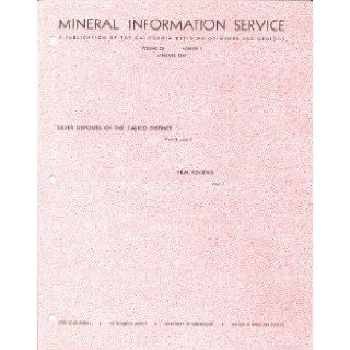 Mineral Information Service (California Geology Magazine): Vol 20, 1967 (12 Issues): Mary Hill: Books